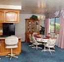 ojai motel kitchen area
