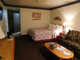 Ojai hotel single bedroom