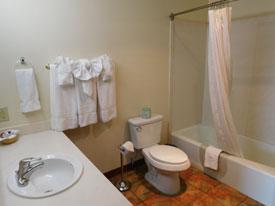 Ojai hotel bathroom