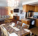 Ojai hotel suite kitchen