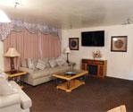 Ojai hotel suite living room